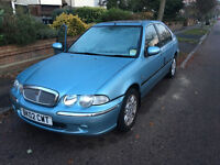 2002 02 ROVER 45 1.8i IXL MODEL - AUTOMATIC / LOW 35K MILES ONLY / 3 OWNERS / MINT / QUICK SALE /