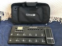 Line 6 POD HD500X with official carry bag & HD amp packs. Great conditon!
