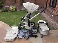 Joolz Pushchair in Silver