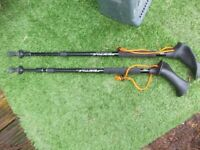 Rhodes pacer poles hiking walking sticks left and right poles