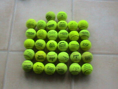 32 used tennis balls ideal for beach cricket and dog