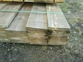 """9"""" x 1 1/4"""" Sawn Timber (225mm x 34mm) 5.1mtr Lengths"""