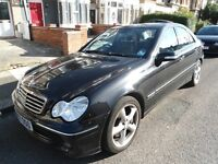 2007 MERCEDES-C220 CDI-AUTOMATIC***LONG MOT- HPI CLEAR***IMMACULATE THROUGHOUT -DRIVES SPOT ON £2650