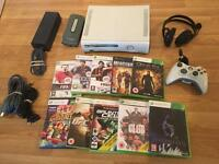 60gb XBOX 360 CONSOLE with 9 GAMES & HEADSET£30 no offers