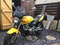HONDA HORNET CB600FX 1999 31500 mls. YELLOW