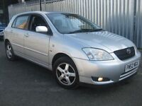 TOYOTA COROLLA AUTOMATIC NEW SHAPE ==== £990 ONLY ==== 5 DOOR HATCHBACK