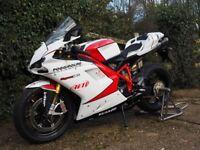 Very special Ducati 1198s NCR racing replica