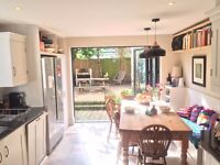 Double room in recently redeveloped Victorian house, Abbeyville village/Clapham South