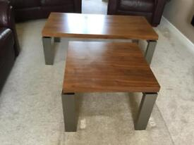 For sale coffee table and lamp table