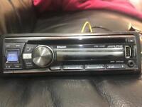 Alpine CDE 133BT stereo, bluetooth,usb,aux