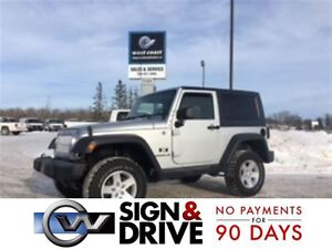 2008 Jeep Wrangler X ONLY $99 A WEEK* X 4YRS