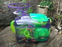 Crittertrail deluxe hamster cage