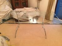 Maskreys Glass Dining Table