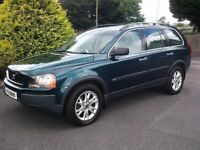 VOLVO XC90 DIESEL AUTO 7 SEATER FULL LEATHER NOT BMW X5 MERCEDES ML Q7 V70 SHARAN 4X4 V50 530D 730D