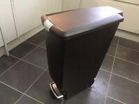 Simplehuman 40 litre slim black bin
