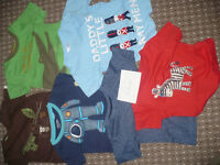 Bundle of 36 baby boy summer clothes 12-18 mths/ 12-18mths/ 1-1.5 years.