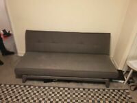 YOKO sofa bed – from Madecom – Cygnet Grey used condition and very solid