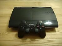 PS3 + Controller + Games + Accessories