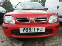 NISSAN MICRA AUTOMATIC, GREAT ENGINE AND BODY, CENTRAL LOCK, ELECTRIC WINDOWS, CLEAN FOR AGE