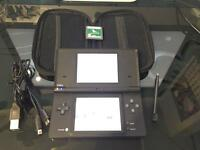 Nintendo DSI black + charger and game