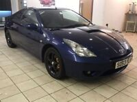 !!140BHP!! 2004 TOYOTA CELICA 1.8 VVTI / MOT MAY 2018 / SERVICE HISTORY / FULL LEATHER / MUST SEE