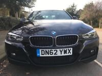 2012 BMW 320D M SPORT AUTO + BLK LEATHER + HISTORY + L@@K