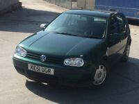 Volkswagen Golf 1,6 automatic 2001