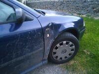*Reduced* Quick sale needed - blue Skoda Octavia 1.9TDI Estate 53 plate.