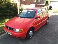 FOR SALE RED 1997 VW POLO 1.9D