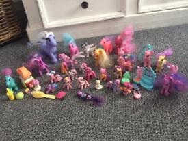 My little pony huge joblot/bundle/collection