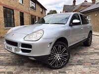 Porsche Cayenne 4.5 S Tiptronic S AWD 5dr p/x welcome **6 MONTHS WARRANTY**FSH** 2004 (53 reg), SUV