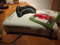 Xbox 360 with Controller, Forza Motorsport 4 and Wireless Adapter