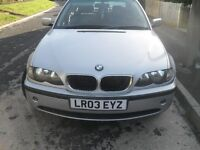 BMW E46 3 SERIES FOR SPARE OR REPAIR