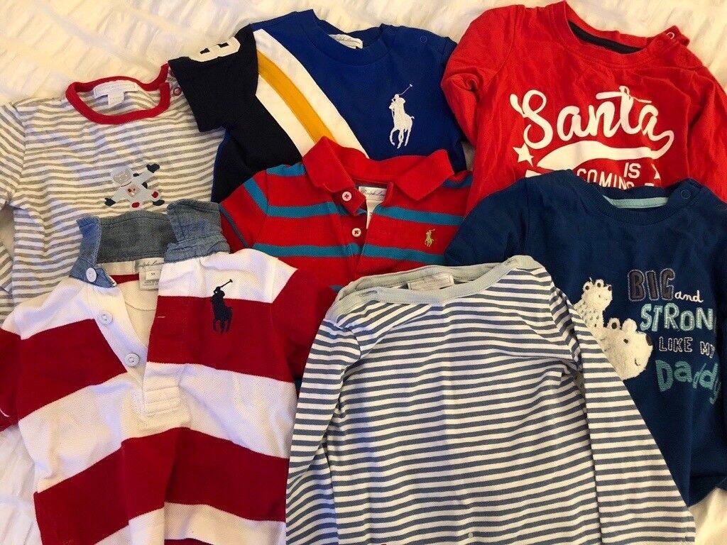 ff51714475d5 Baby boys designer clothes bundle 9-12 months (35+ pieces)