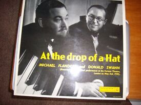 AT THE DROP OF A HAT/FLANDERS&SWANN LP