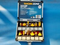 Brand new router bits set