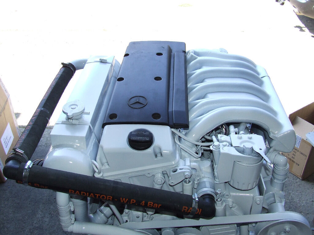 MERCEDES 250hp MARINE DIESEL BOAT ENGINE VOLVO 290 DUO PROP STERN DRIVEin Whitley Bay, Tyne and WearGumtree - MERCEDES 1999 OM606 250hp MARINE DIESEL ENGINE 3lt, 6 CYLINDER, 24 valve, TURBO DIESEL ENGINE COMPLETE VOLVO 290 DUO PROP STERN DRIVE GREAT CONDITION COMES WITH TRANSOM SHIELD, RAMS, TRIM PUMP, BELL HOUSING, PROPELLERS, HOSES, NEW ANODES EVERYTHING...
