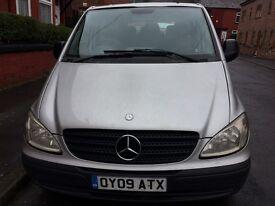 Mercedes Vito 2009 Minibus 9 seats Good condition 6 Speed £4249