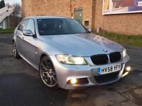 2009 BMW 335d M SPORT LCI FACELIFT AUTO TWINTURBO DIESEL 350BHP REMAPPED M3 S3 GTI GOLF R GTD AUDI