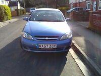 Good reliable car metallic blue