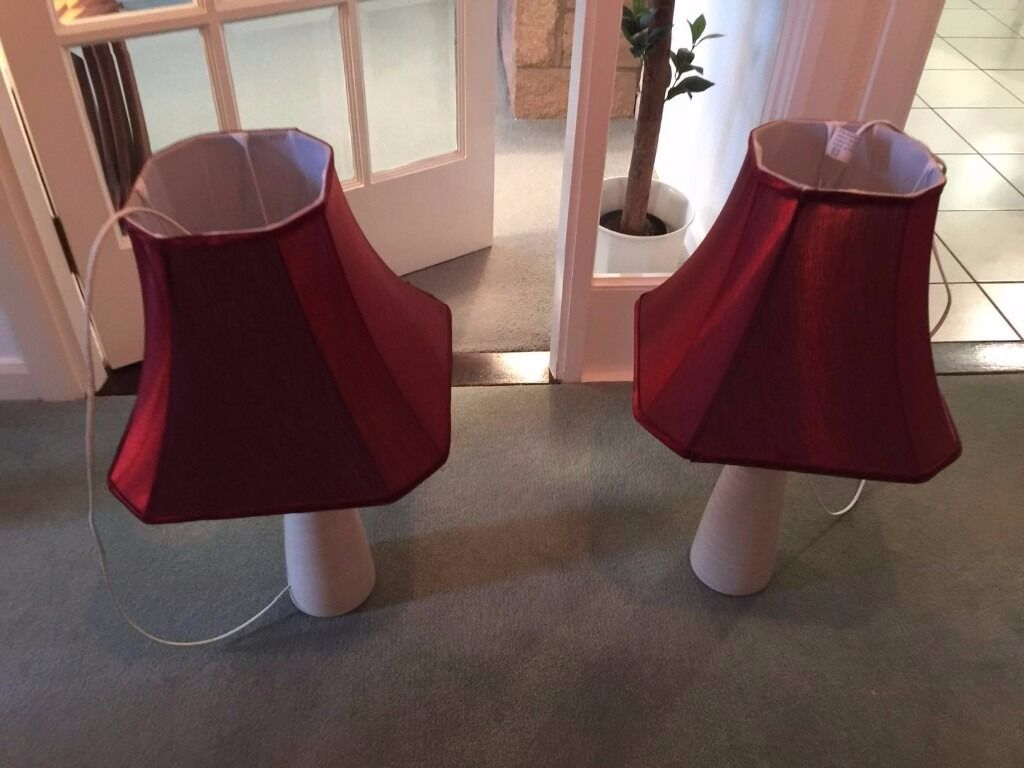 Set of Lamps x2 * PRICE REDUCE *