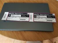 X 2 Ed Sheeran standing tickets