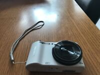 Samsung WB150F digital camera with carry case