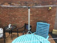 Vintage 1950s Servis Telescopic Airer / Maiden Steampunk Studio Prop- delivery or collection