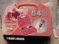 Black & Decker A7071 Battery-Powered Screwdriver Set 54 Pieces