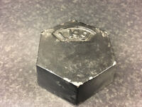 1 x 1kg Hex Laboratory Weights for sale. Good used condition. RRP £14ea - 36 available in total.