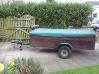 Versatile Canoe Trailer
