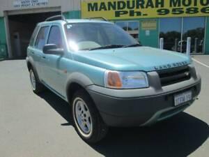 1998 Land Rover Freelander i Manual SUV Mandurah Mandurah Area Preview