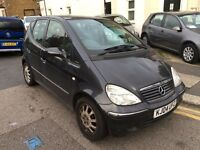 MERCEDES A CLASS ELEGANCE 1.7 DIESEL AUTOMATIC BLACK 2004 LOW MILEAGE FULL HISTORY, GEARBOX ISSUES