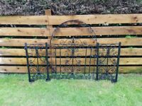 Galvanised Metal Gates
